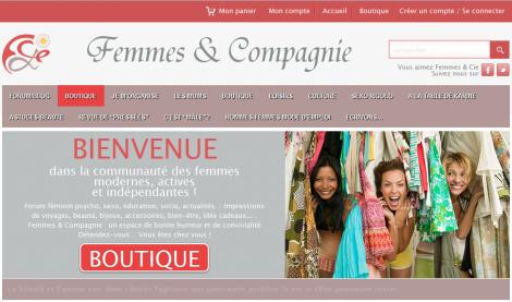 site Femmes&Compagnie